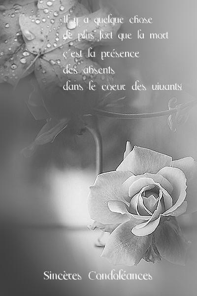 Message De Condoléance par SMS ~ Message de condoléances   sms de