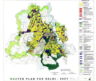 Master Plan for Delhi 2021 prepared by DDA, Delhi