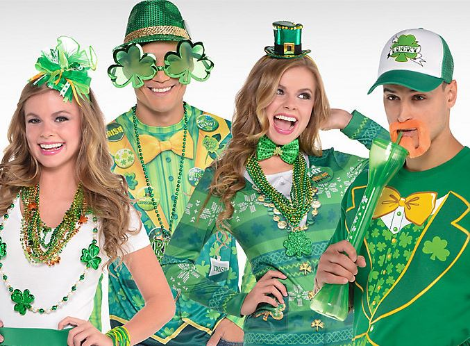 db872ce1a4284 Sport the luck of the Irish. Incoming Searches and Keywords: Buy St. Patrick's  Day Party Costumes ...