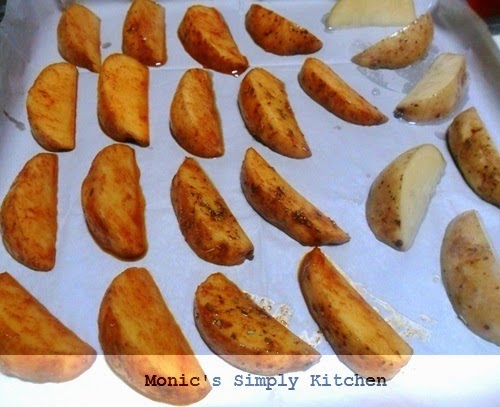cara membuat potato wedges