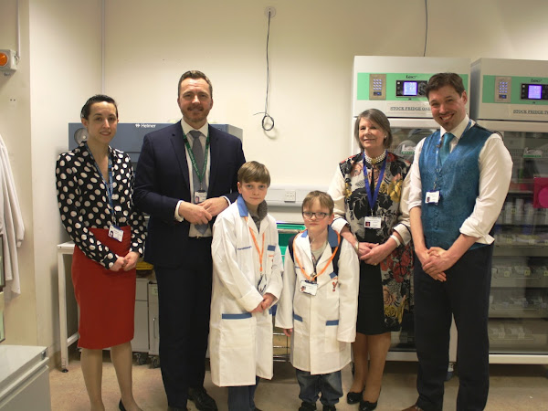 Portsmouth QA hospital launch Harvey's Gang