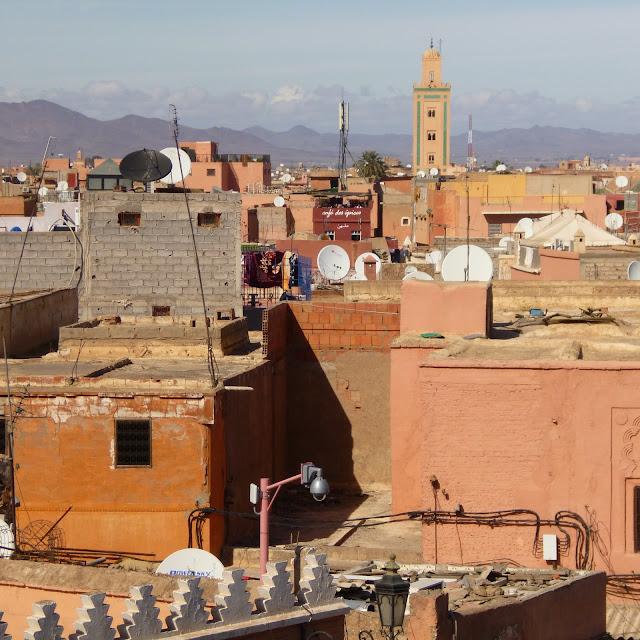 Azoteas en Marrakech