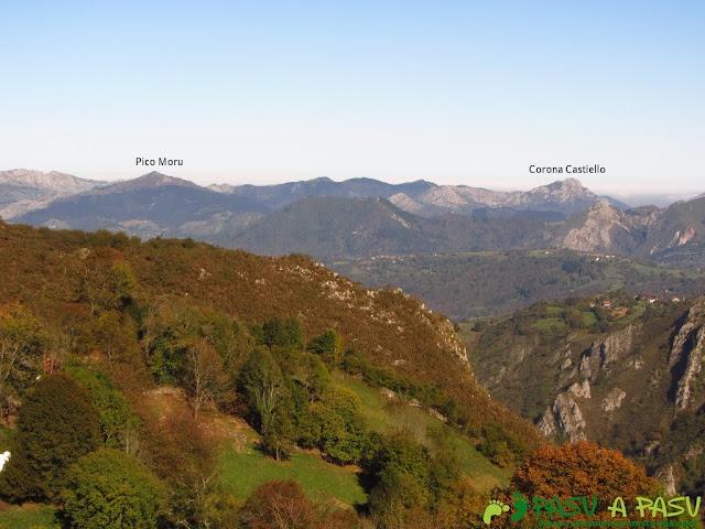 Vista del Pico Moro y Corona Castillo