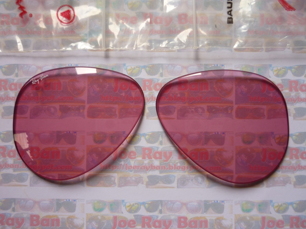 Ray Ban Lens Original Bausch Amp Lomb Pink Rose Changeable