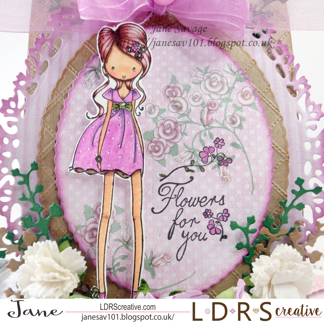 Paper pencils and pretty things ldrs creative flowers for you i do love the gorgeous images from all dressed up i mean look at those impossible legs lol izmirmasajfo