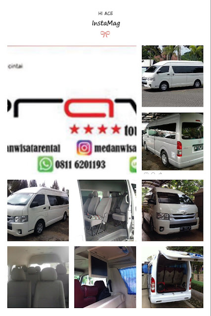 Sewa Mobil Hi Ace di Medan