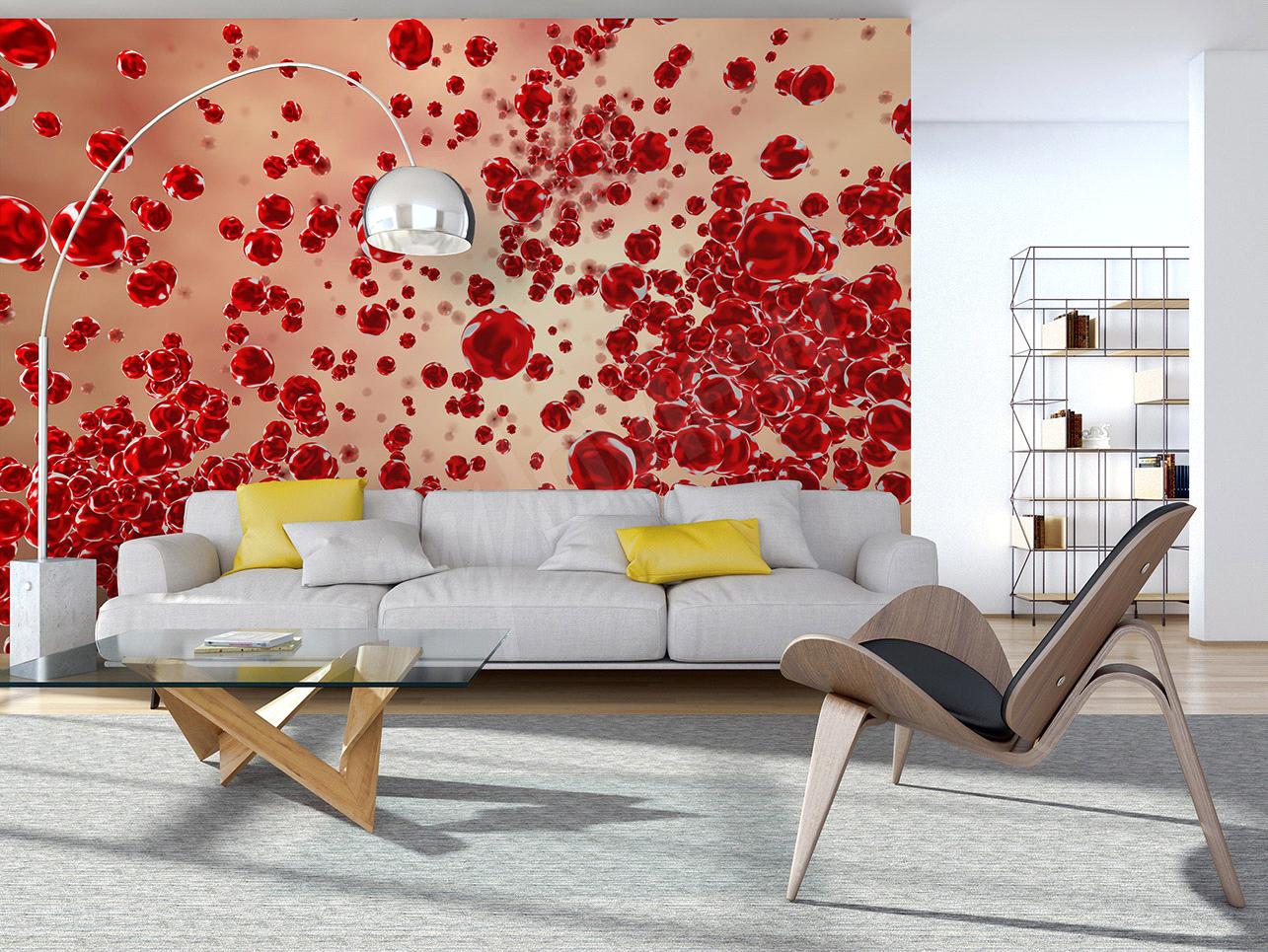Papier Peint Petit Salon décoration salon / décor de salon: l'effet d'optique, un