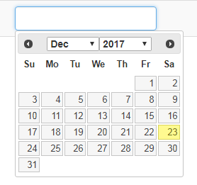 DatePicker with month and year in jQuery UI