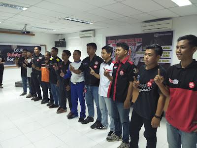 Astra Motor Sosialisasikan #Cari_aman Pada Acara MUBES Paguyuban HWBC