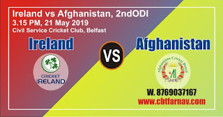 AFG vs IRE 2nd ODI Match Prediction Today Who Will Win