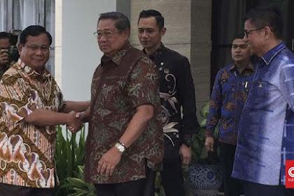 Sby: Kami Akan Bantu Prabowo Lengserkan Dominasi Joko Widodo Tahun Ini