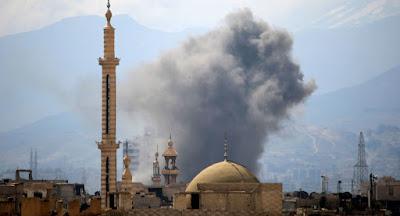 Mísseis de Israel teriam atingido alvo perto da capital síria