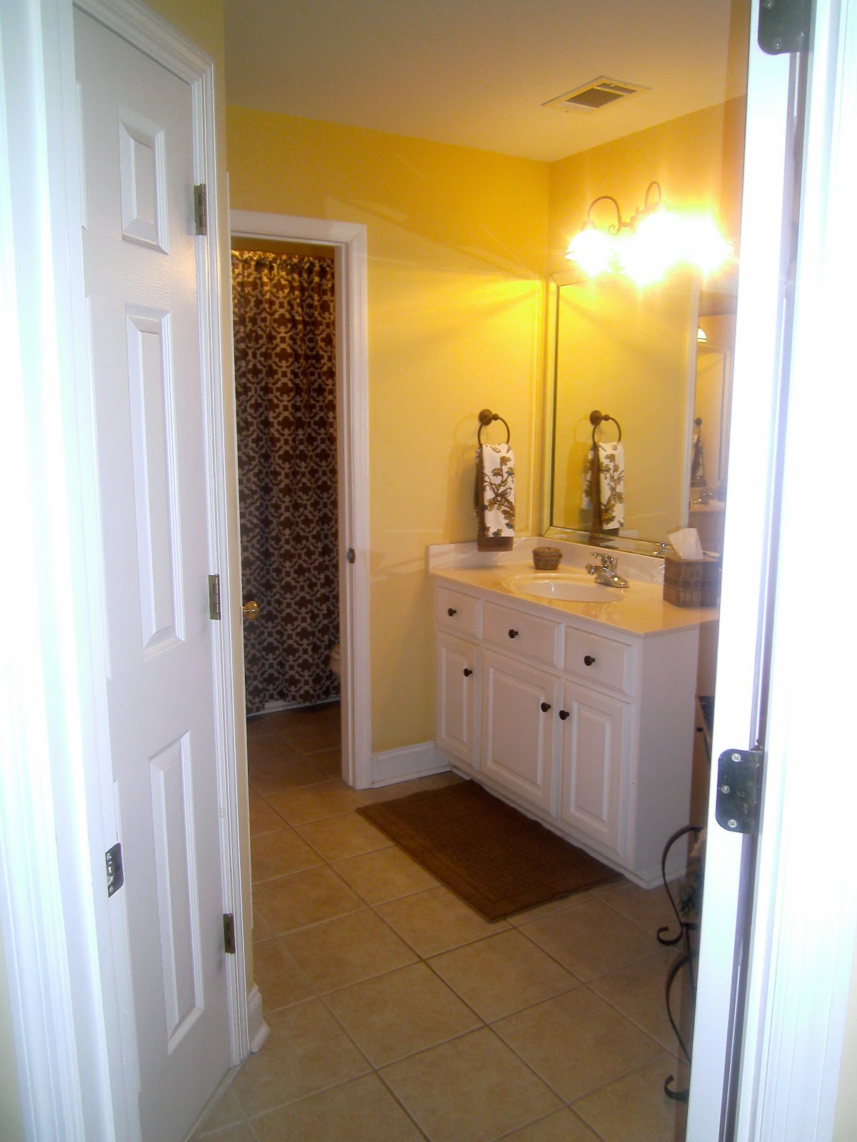 From House To Home Traditional Jack And Jill Bathroom