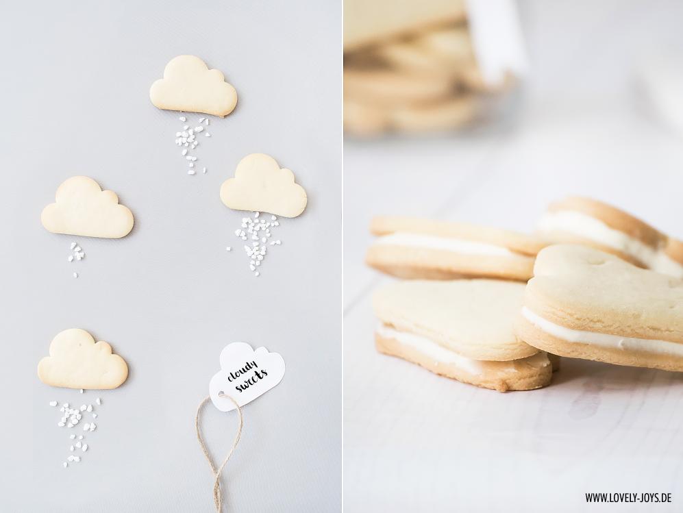 Süße Wolken Kekse Rezept