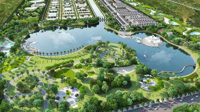 Ảnh minh họa khu đô thị sinh thái Thanh Hà Cienco 5 năm 2030