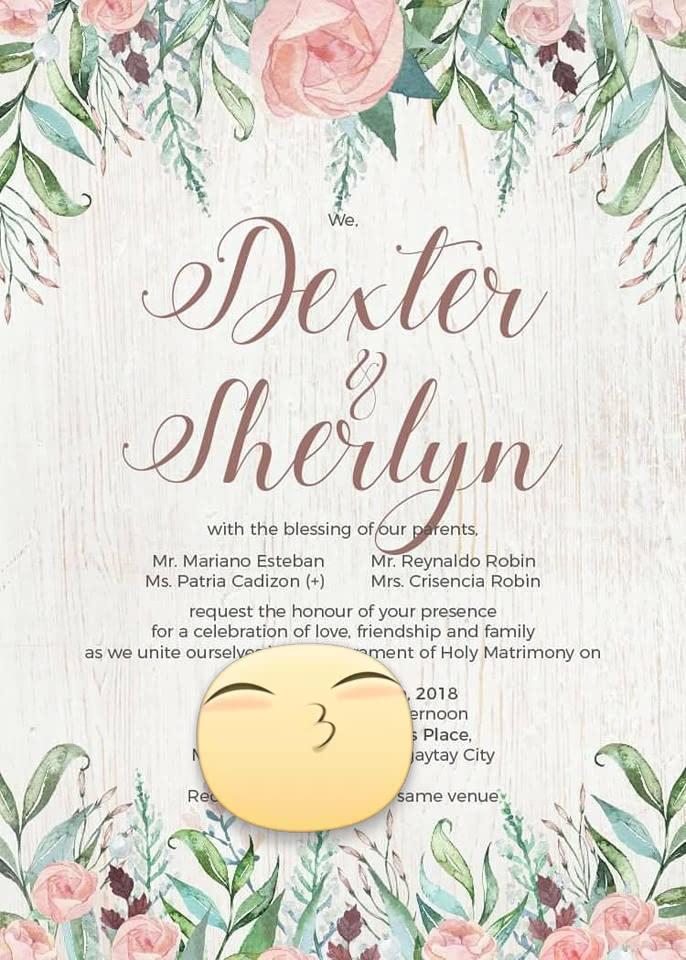 sheringdextiny: Wedding Invitations