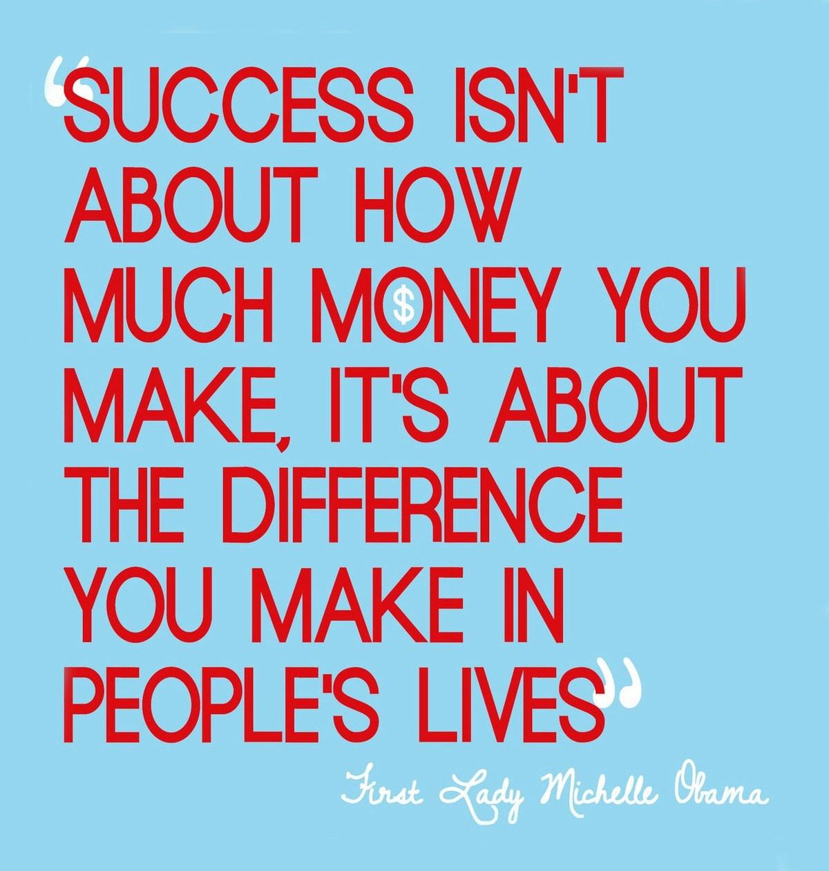 Quotes In Success: Michelle Obama Inspirational Quotes. QuotesGram