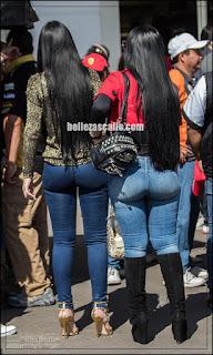 mujeres sexys jeans apretados