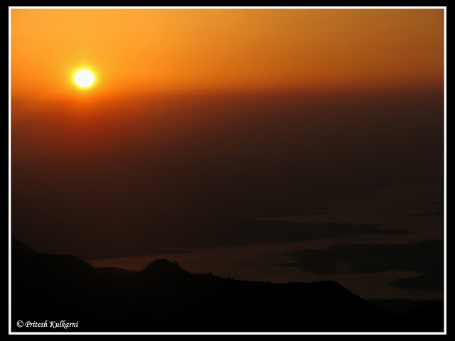 Sunrise from Rajgad