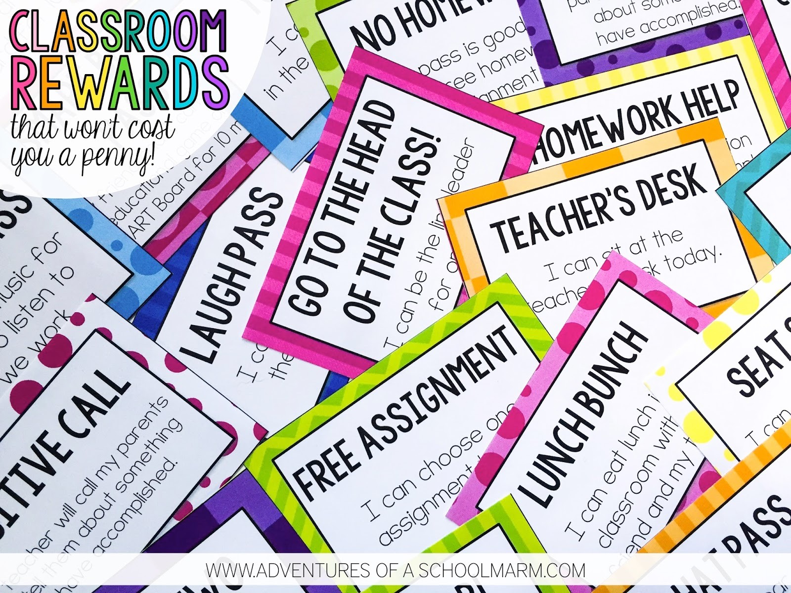 Classroom Reward Ideas For Middle School ~ Classroom rewards that won t cost you a penny