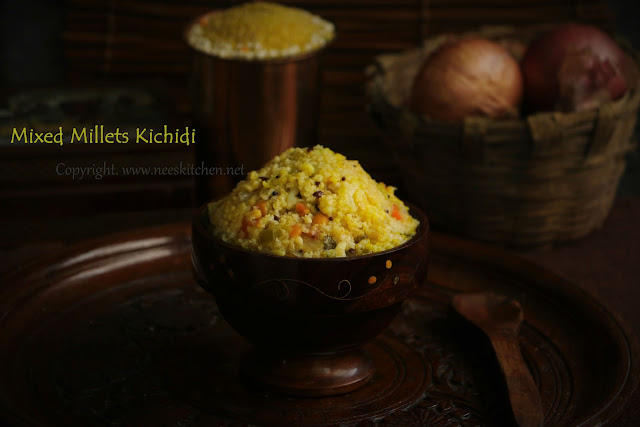 Mixed Millets Kichidi