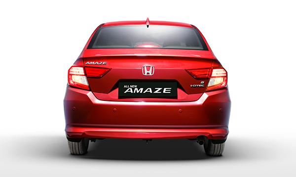 All New 2018 Honda Amaze rear look