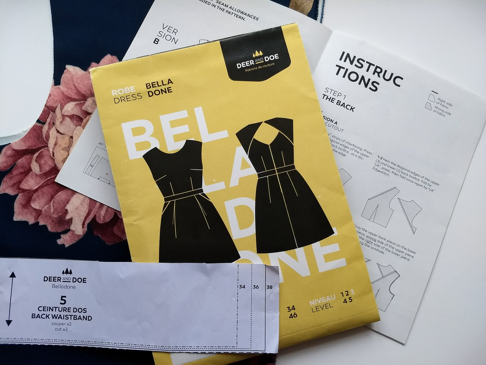 Deer and Doe Belladone dress pattern review