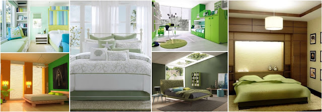 Top 10 Quiet Modern Green Bedroom Design Ideas