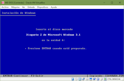 Instalar Windows 3.1