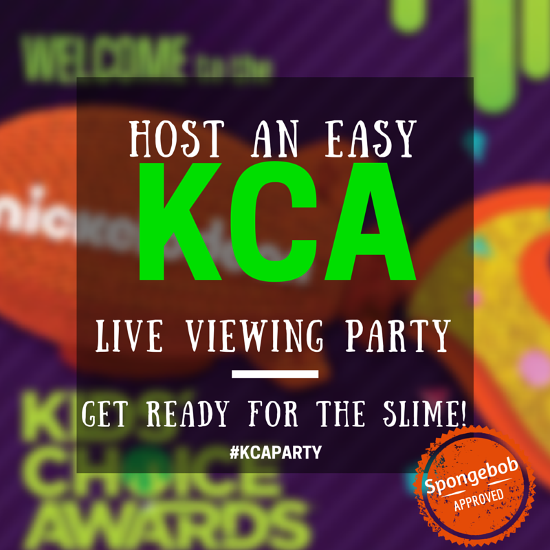 Spongebob's Guide to Hosting a 2015 Kid's Choice Awards Party {free printables}  #KCAParty