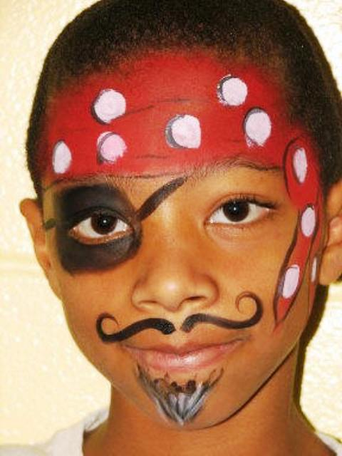 Pirate Princess Face Painting Ideas