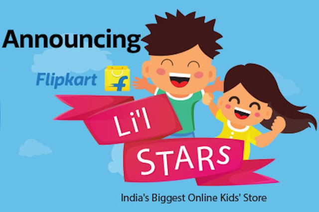 Flipkart Launches Li'l Star; India's Biggest Online Kids' Store