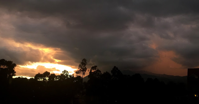 Storm and Sunset 1