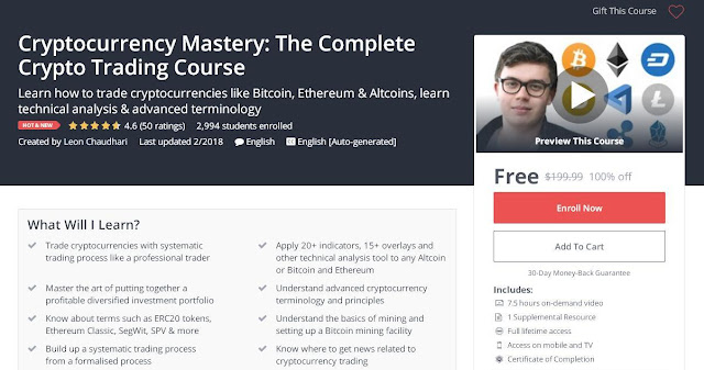 Cryptocurrency Mastery: The Complete Crypto Trading Course