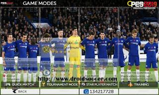 Download FTS Mod PES 2019 v2.5 by Allan Games Apk + Data Obb