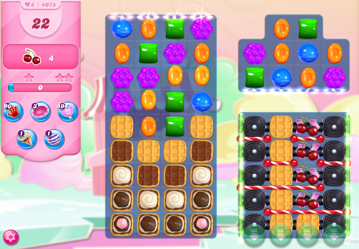 Candy Crush Saga level 4075