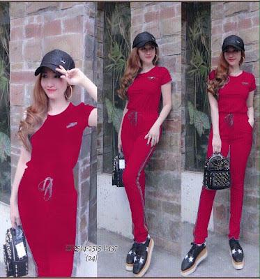 Bộ quần áo thể theo nữ tay ngắn, quần dài mới nhất