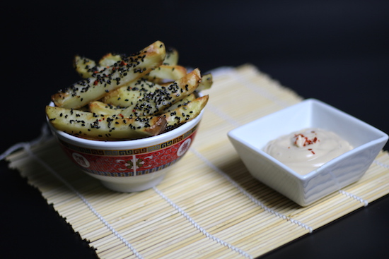 Chilli Sesame Potato Chips Recipe