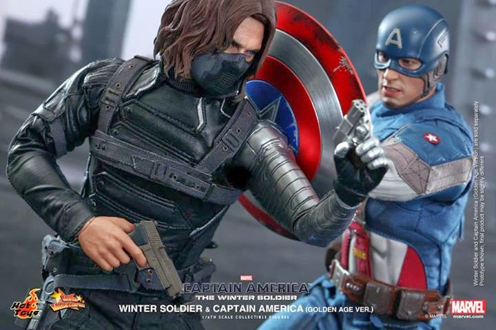 1 6th Scale Winter Soldier Collectible Figure From Hot Toys