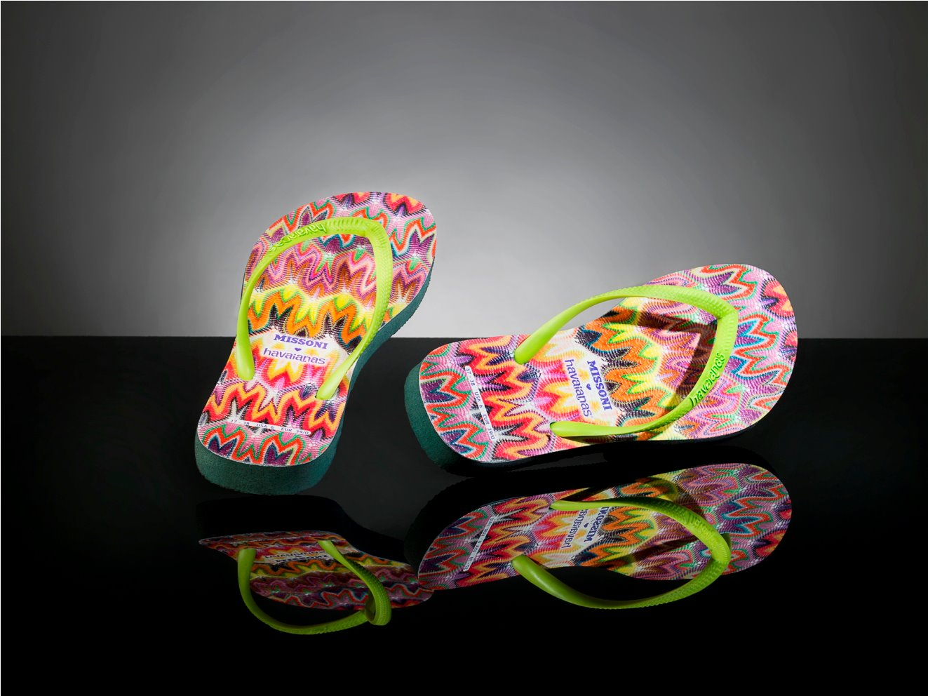 b75edcb0942b0c ... design house Missoni and Brazilian flip-flop brand Havaianas