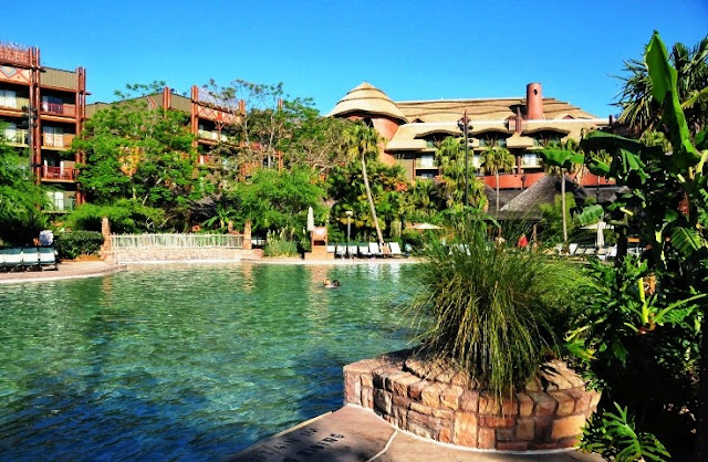 Estrutura do Disney´s Animal Kingdom Lodge