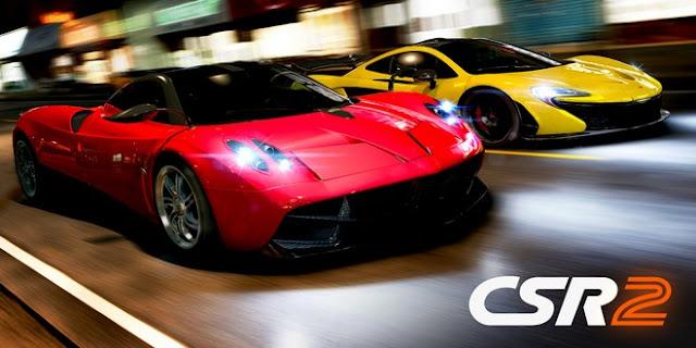 تحديث جديد من لعبة السباقات CSR Racing 2 بإضافة 16 سيارة جديدة( خرافية)