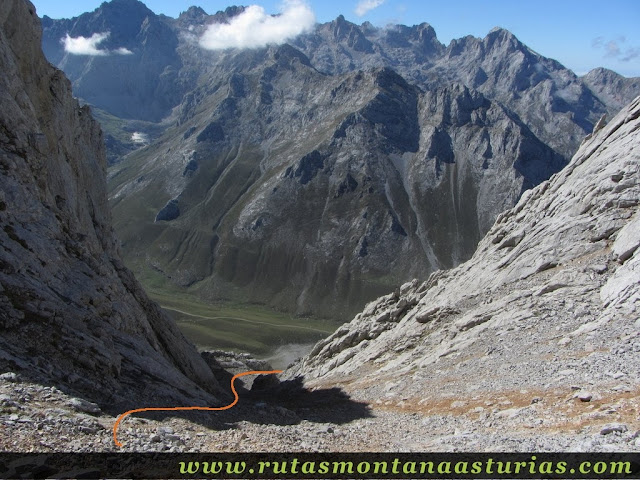 Ruta Canal Grajas y Covarones Cortes: Bajando por Covarones