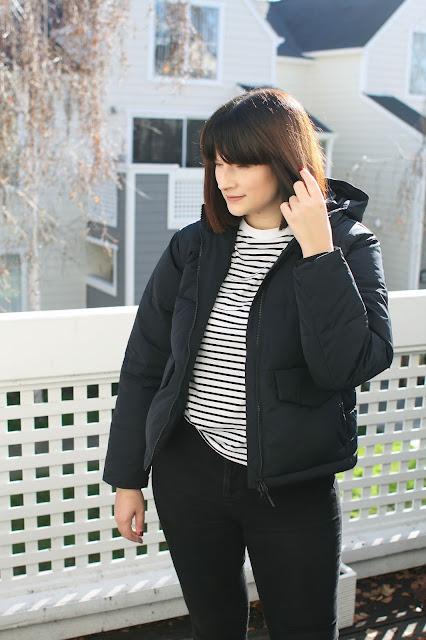 Warm coat, Winter jacket, Fashion, Style, OOTD, WIWT, Fbloggers, Everlane