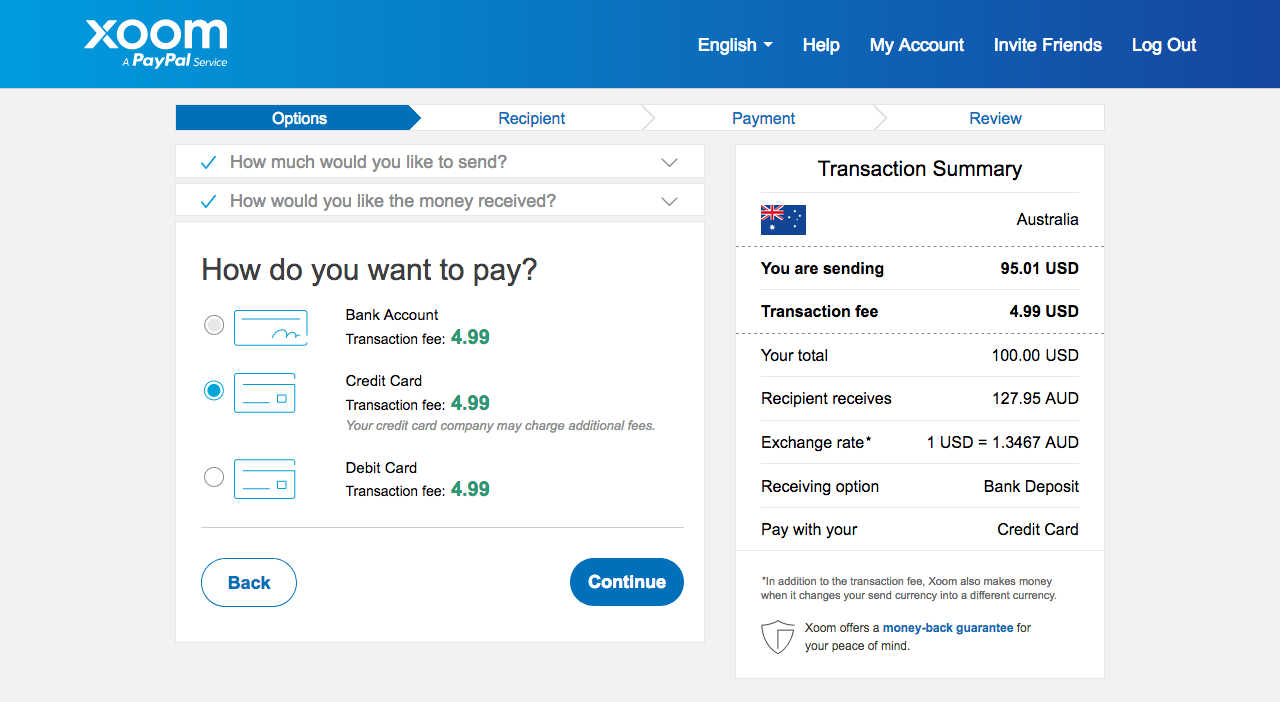 How to transfer PayPal Funds to Local Bank accounts in