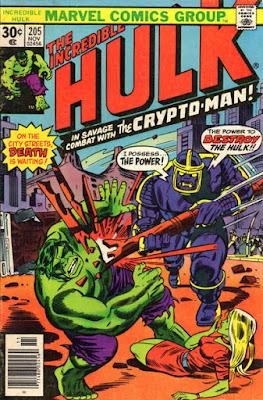 Incredible Hulk #205, Crypto-Man