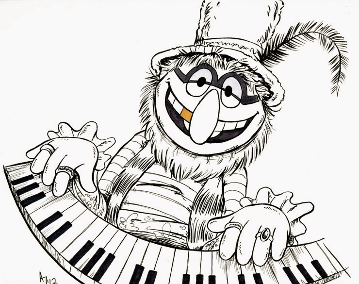 muppet movie coloring pages - photo#23
