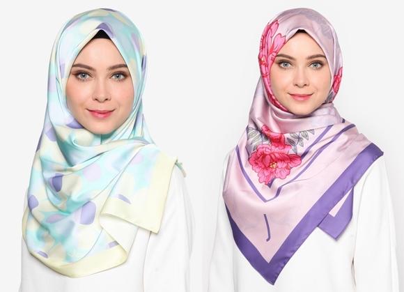 Tudung Bawal Terkini Jovian Hijab Printed Square Shawl Dan Long Shawl November 2016
