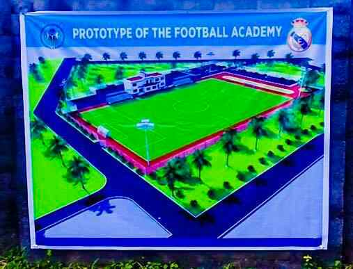 Check Out Photos Of The Proposed Real Madrid Football Academy In Port Harcourt