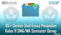 Lengkap - 95+ Contoh Soal Essay Penjaskes Kelas 11 SMA/MA Semester Genap Terbaru